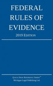 2019 Federal Rules of Evidence
